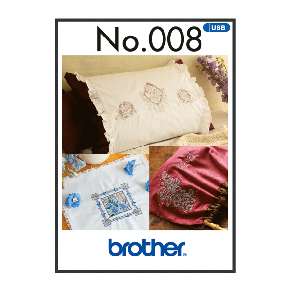 Brother Stickmuster USB Cut Work Style Nr.008