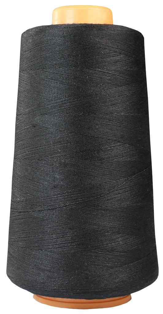 Schwarz Overlockgarn, Coverlockgarn