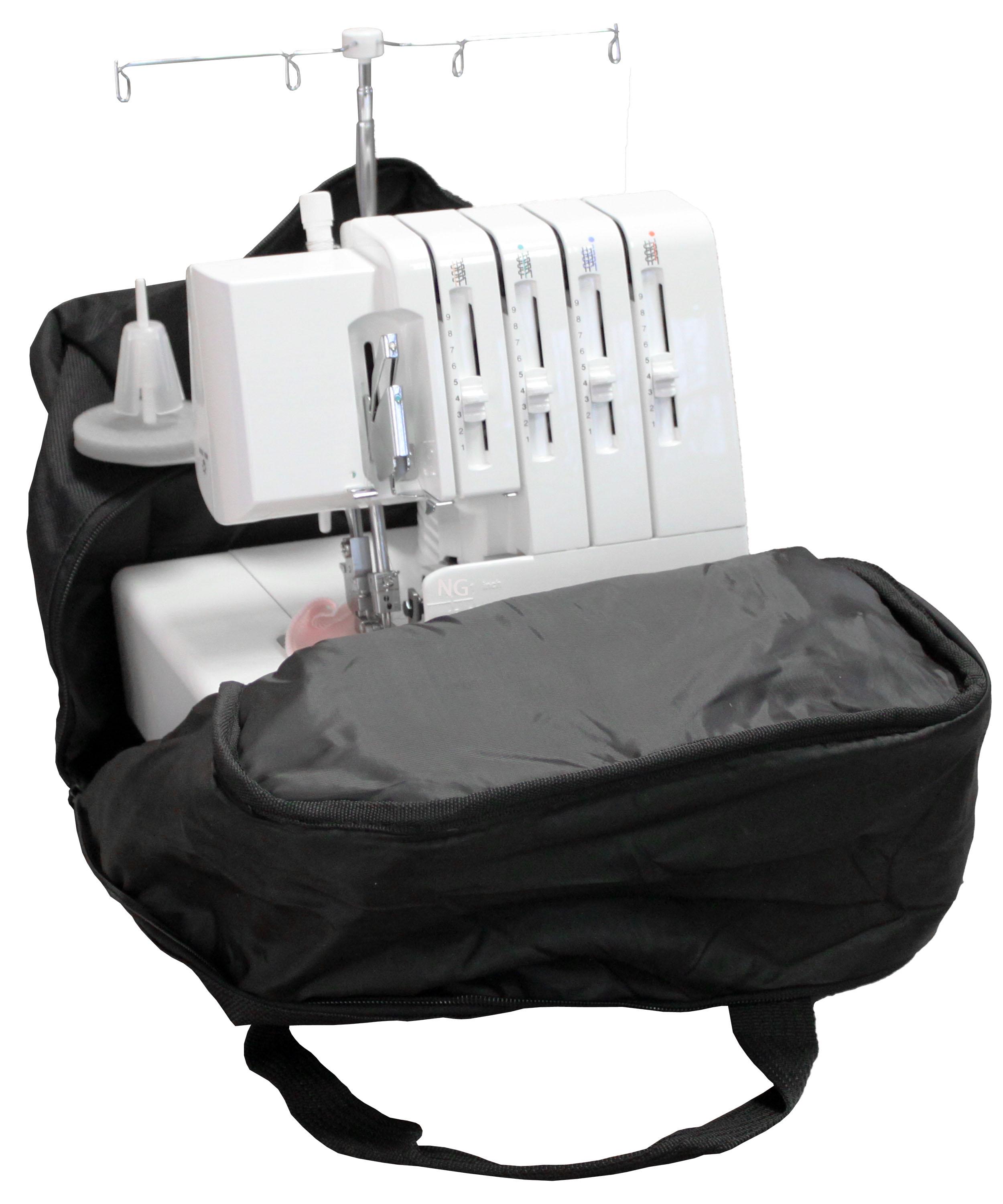 Overlocktasche schwarz