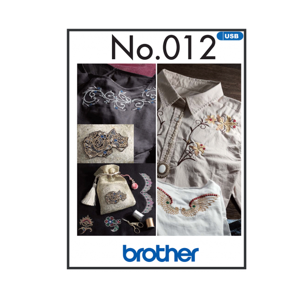 Brother Stickmuster USB Decorative Muster Nr.012