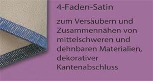 4-Faden-Satin