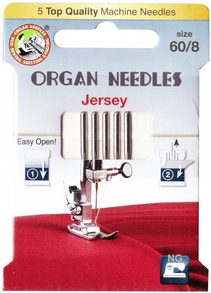 Organ Jersey Nadeln Stärke 60