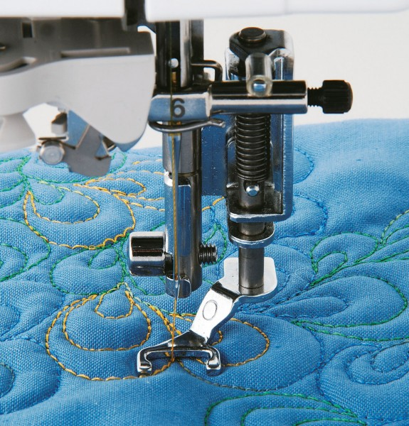Brother Offener Quiltfuß, Applikationsfuß 7mm Nähfuss XE1097001