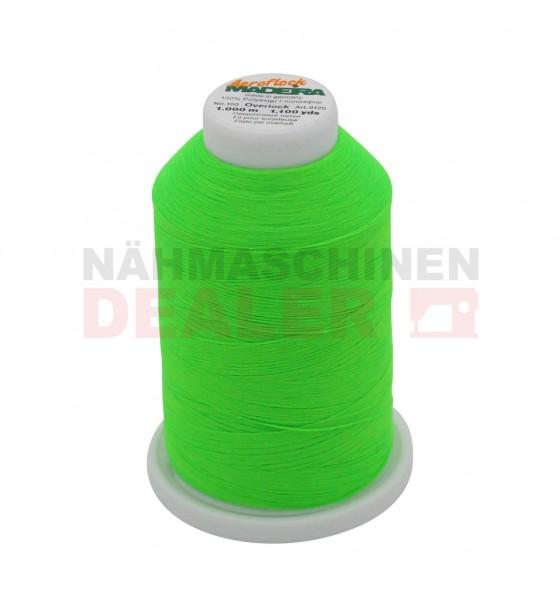 MADEIRA Aeroflock No.100 1000m neon green