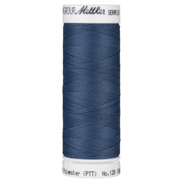 Amann Mettler Seraflex Nähgarn 130m Elastikgarn Blau