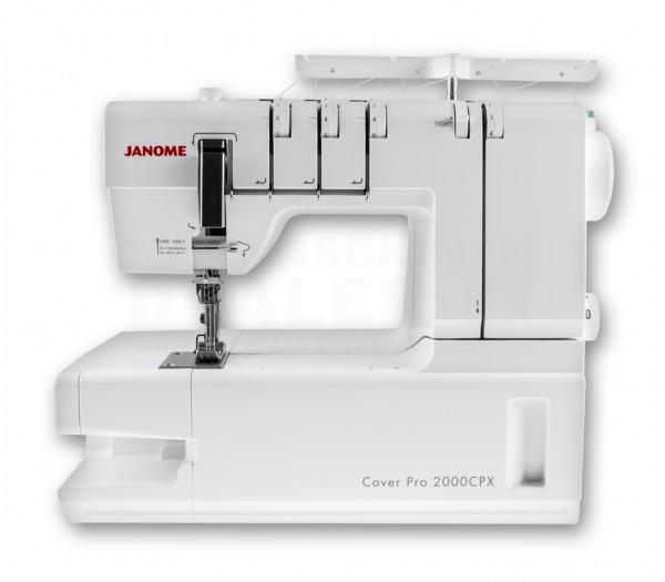 janome cover lock machine