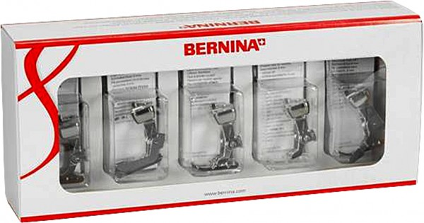 Bernina Nähfuss-Set für Bernina 8er und 7er Serie Nähfuss 0316627001