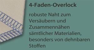 4-Faden-Overlock