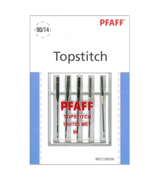Pfaff Topstitch-Nadel Stärke 90 System 130/ 705 MET - 5 Nadeln