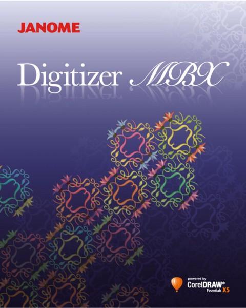 Janome Digitizer MBX 4.5 Sticksoftware