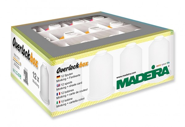 MADEIRA Overlockbox Neon Colors