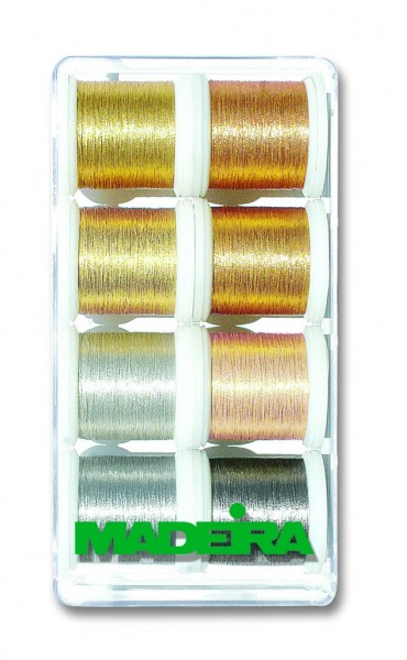 Madeira Stickbox Metallic Smooth 8019