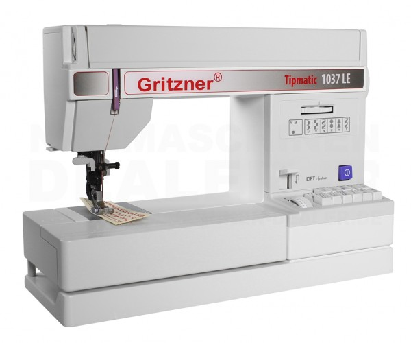 Gritzner Nähmaschine Tipmatic 1037 DFT Limited Edition