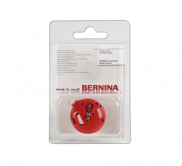 Bernina Bobbin Work Spulenkapsel rot, 7-Serie