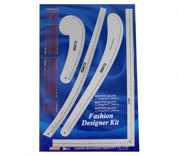 Modedesigner-Set Fashion Designer Kit
