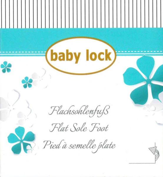 Baby Lock Flachsohlenfuß B5001T02BC