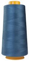 Jeans-blau Overlockgarn, Coverlockgarn