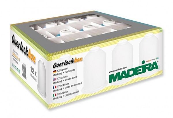 MADEIRA Overlockbox 3+1 APPLE & BLUE