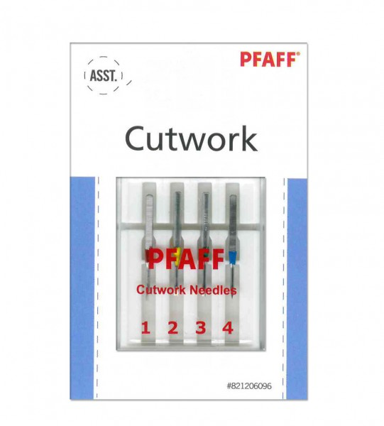 PFAFF Cutwork Nadeln Flachkolben