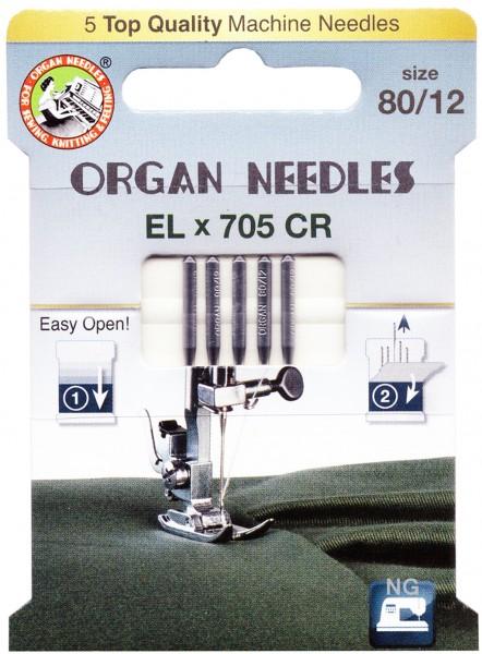 Organ Chromium Nadeln EL x 705 CR Stärke 80