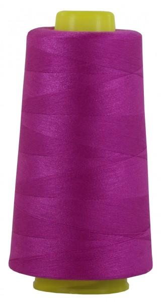magenta-violett Overlockgarn, Coverlockgarn