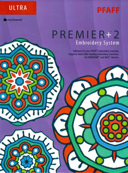 Pfaff Premier +2 Ultra Full System