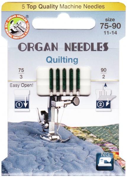 Organ Quilting Nadeln gemischt 75 / 90