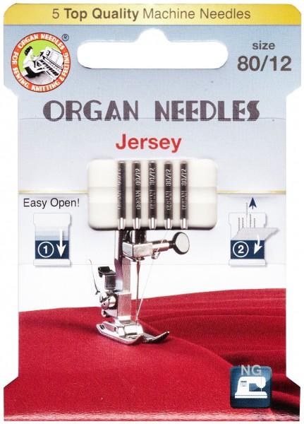 Organ Jersey Nadeln Stärke 80